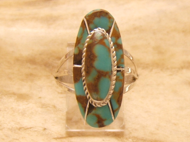 Bague en turquoise made in usa