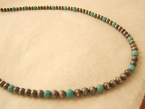 Collier turquoise sleeping beauty