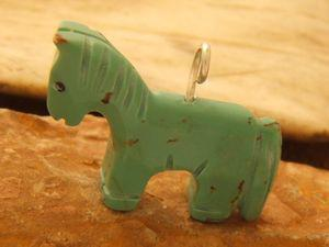 Cheval en Turquoise