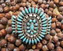 Manchette Turquoise Navajo